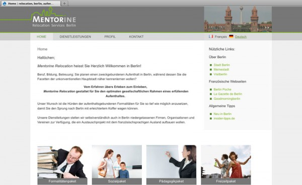 Gestaltung Webdesign und Logo
