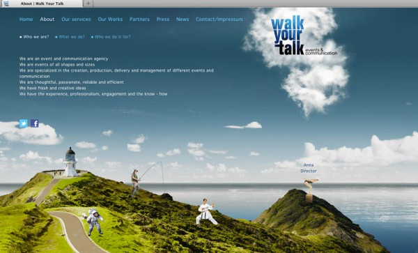 Webdesign Walkyourtalk