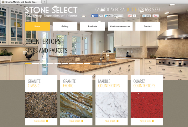 Bild Website-for-Stone-Select-home