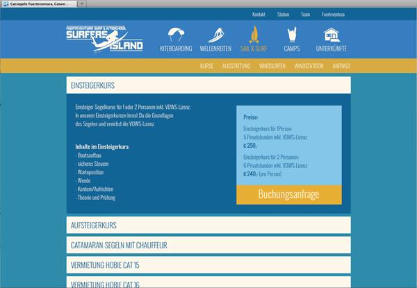 Webentwicklung-Slider-Website-Surfschule