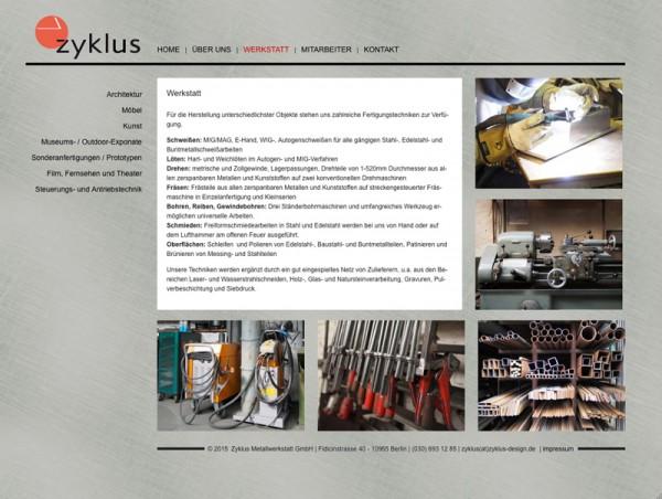 Zyklus-webdesign